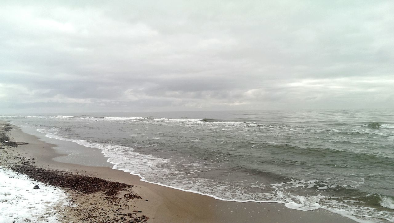 sea, beach, water, sand, nature, wave, beauty in nature, tranquility, sky, no people, horizon over water, scenics, outdoors, day