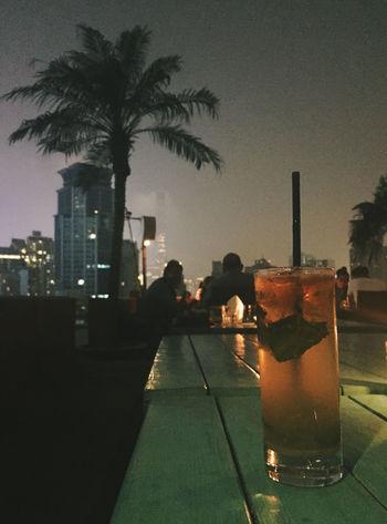Wine Cocktails Mojito! Night Nightphotography Nightlife Summer SummerNights Bar Lounge