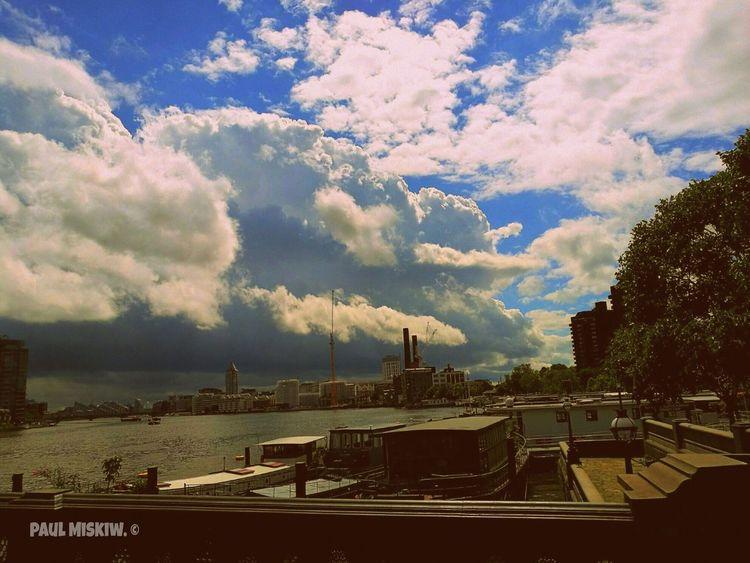 Battersea Power Station London Sky