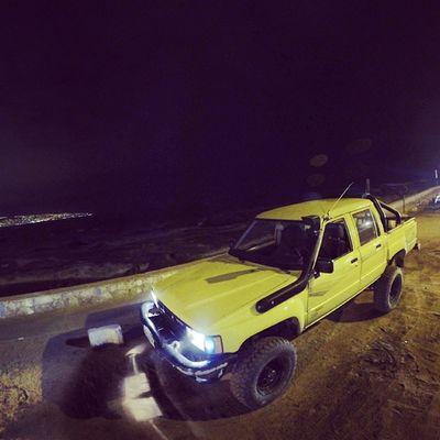 Hilux for a life! Hilux Toyota Nightlife Reñaca