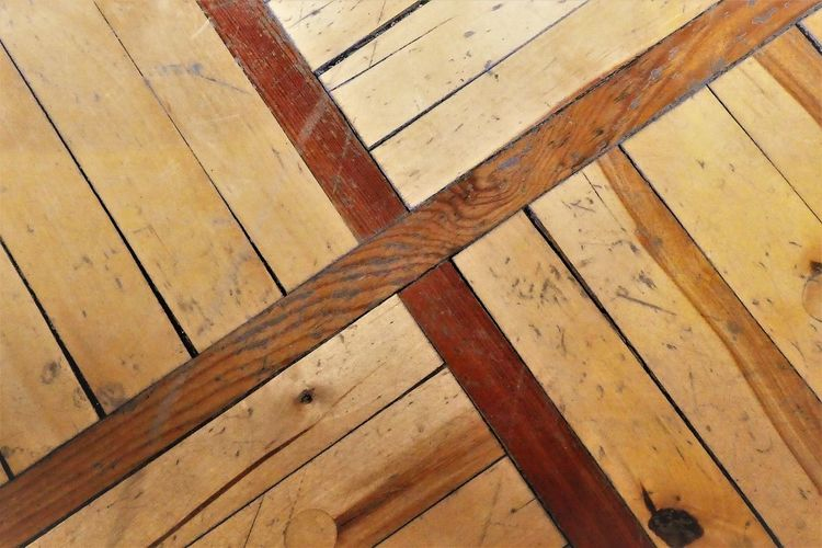 Wood - Material Indoors  Backgrounds Pattern Full Frame Brown Flooring Wood No People High Angle View Close-up Textured  Metal