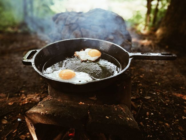 Breakfast Food And Drink Food Healthy Eating No People Day Ready-to-eat Home Happiness Family❤ Real People Enjoying Life Breakfast Full Length Looking At Camera Close-up Sun Hat Adult Eggs For Breakfast Egg Arts