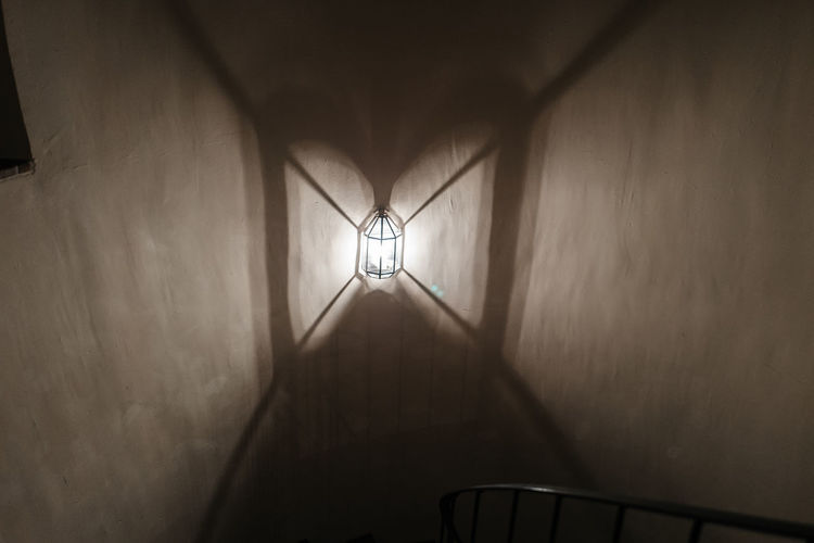 Architecture Built Structure Ceiling Ceiling Fan Home Interior Illuminated Indoors  Low Angle View Night No People Sursee Wysamschtig Sursee