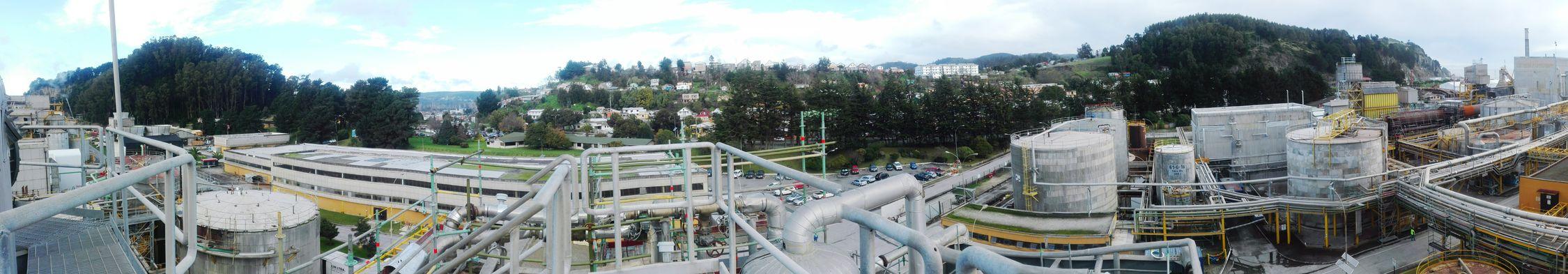 Panoramica de CelulosaArauco PlantaConstitucion
