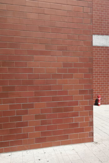 Fire extinguisher Wall Fire Extinguisher City Red Brick Wall Architecture Building Exterior Built Structure Paved