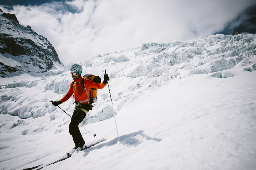 Adventure Alpinism Alps Cold Temperature Extreme Sports Glacier Having Fun Leisure Activity Motion Mountain Movement Outdoor Photography Outdoors Season  Ski Ski Touring Skiing Skiing Snow Winter
