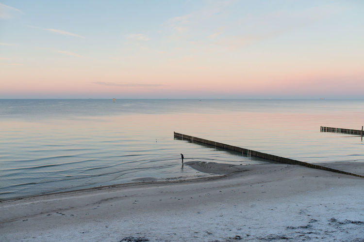Beach Beauty In Nature Day Gespensterwald Horizon Over Water Nature No People Outdoors Sand Scenics Sea Sky Sunset Tranquility Water