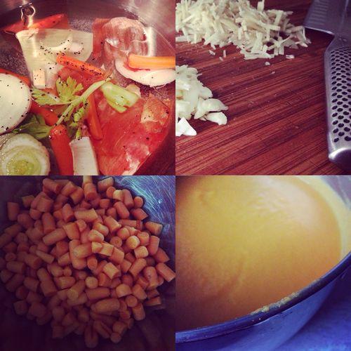 Lovetocook Itsasoupkindofday Carrotgingersoup Food Food Porn