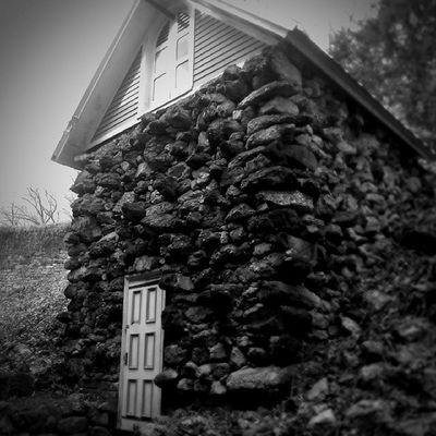 Ice house Asapacker Mansion Mauchchunk Lehighcoalandnavigation Lehighriver 1805 fullyoriginal unrestored Victorian coalcountry