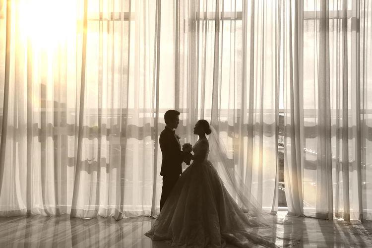 Wedding Couple - Relationship Love Marriage  Men Wedding Dress Wedding Photos Women Love Is Love