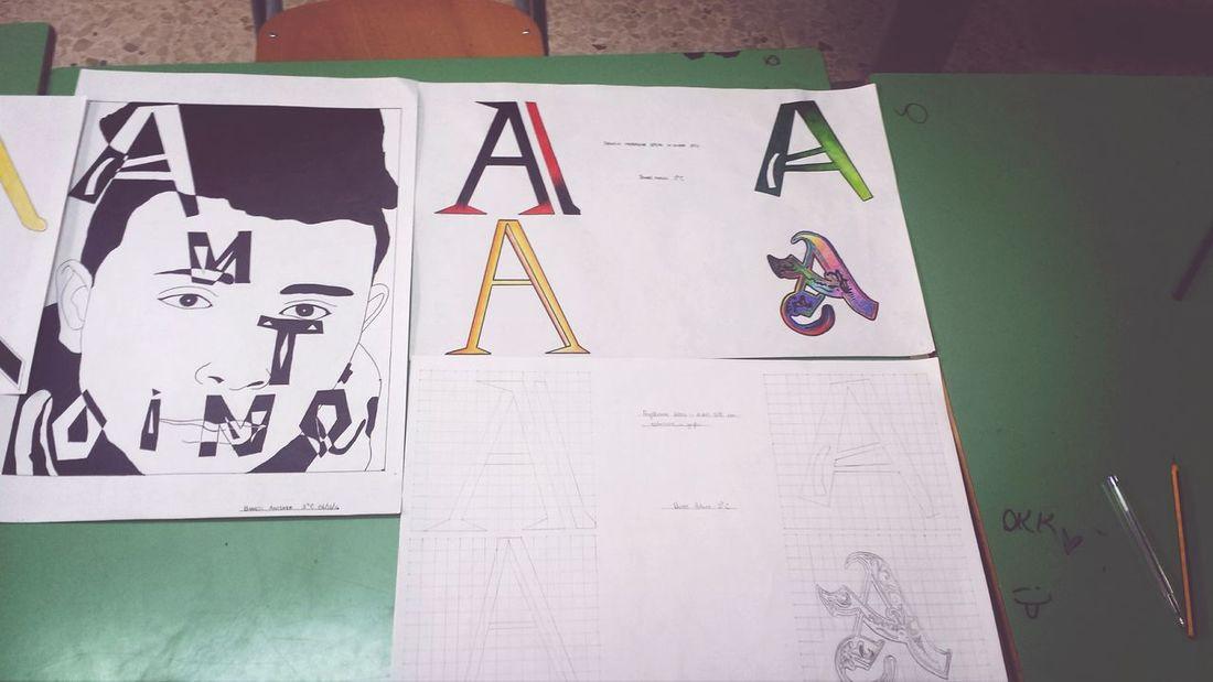 Grafic Work Lettering Face