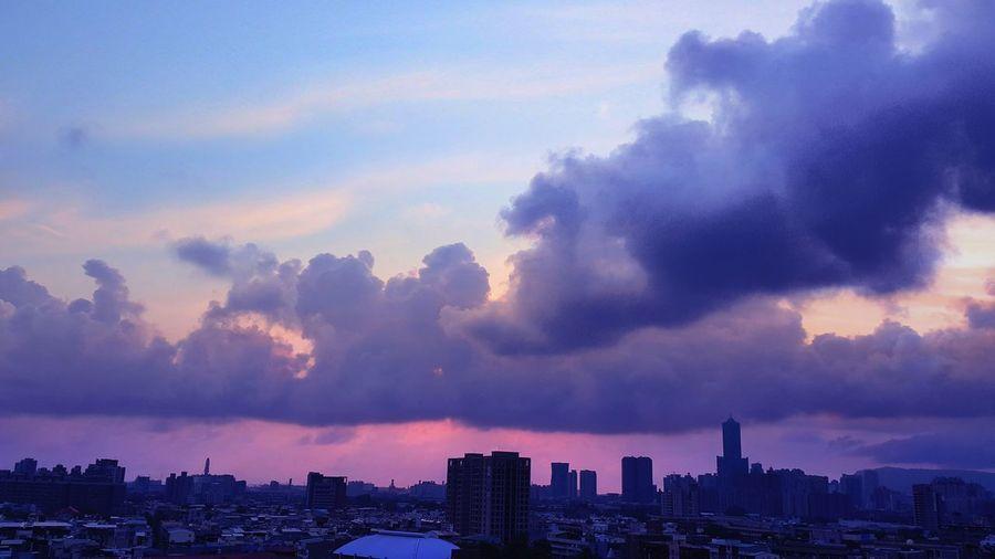 Sunset 🌦 Cloud