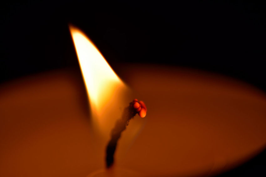 Lit by Candle Flame Aperture Candle Flame Glowing Ideas Magnifying Glass Night Photography Nikon D7200 Shiny