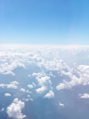 Sky Blue Cloud - Sky Beauty In Nature Scenics - Nature Tranquility Day