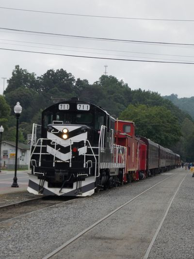 Old Train Photography Vehicle Cars Boxcars Passenger Transport Boarding Departure Mountain Mountains Cloudy Rails Day Life Diesel Diesel Engine Engine Tracks Locomotive Old Locomotive