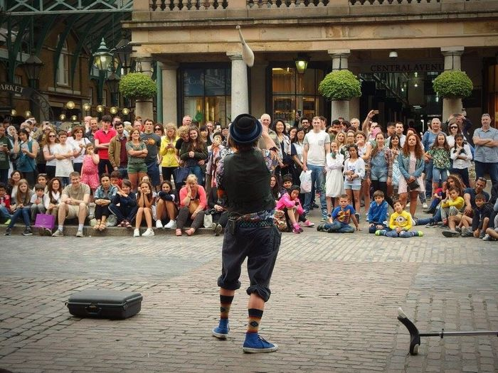 Juggler Covent Garden London
