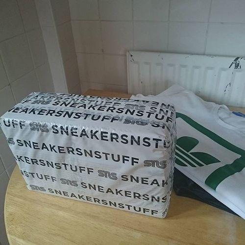 Yeah the posties been Sneakersnstuff Adidasjamaica @sneakersnstuff
