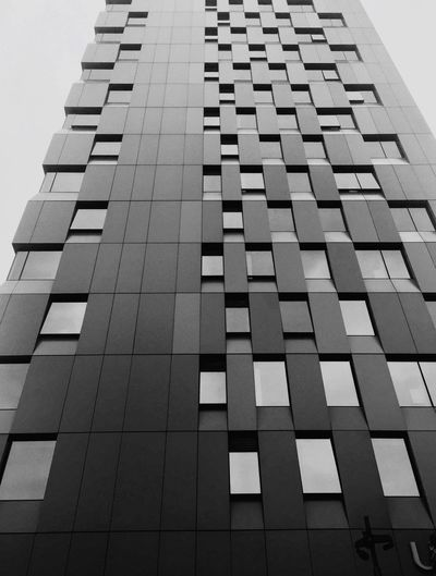 Bllack And White Photography Black And White Blackandwhite Architecture Pattern Low Angle View No People Built Structure Growth Outdoors Skyscraper Day Building Exterior