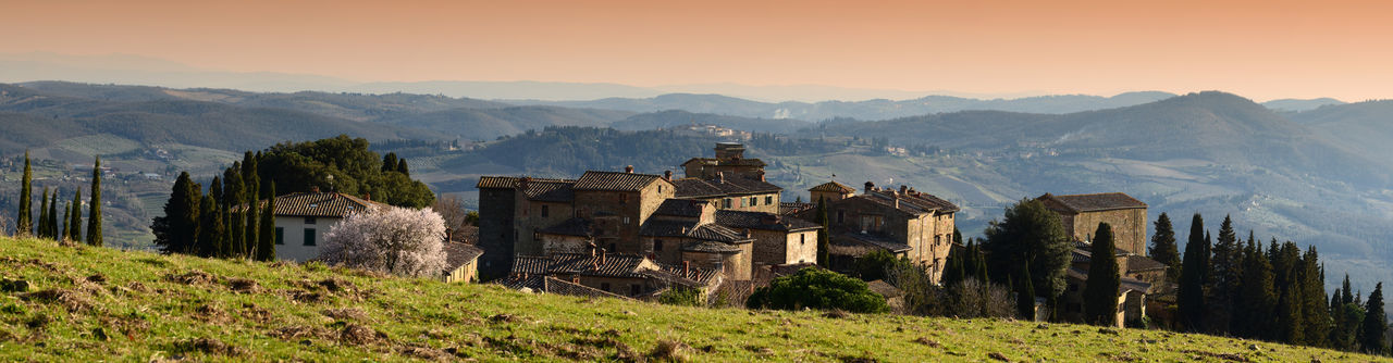 Medieval village of Volpaia in Tuscany, near Siena in Chianti. Italy. Siena, Italy Toscana Tuscany Tuscany Countryside Architecture Built Structure Chianti Countryside Italy❤️ Landscape Medieval Medieval Architecture No People Outdoors Scenics - Nature Village