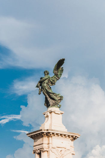 Angel statue in