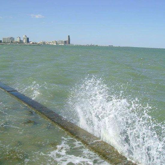 Corpus Christi, Tx Sea Spray Blue Wave