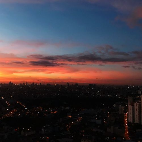 Cityscape City Sunset Sky Architecture Colour Your Horizn EyeEmNewHere