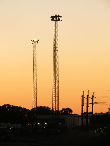 Sunset Built Structure Silhouette No People Oil Industry City Business Finance And Industry Sky Architecture Outdoors Day Glow Fences Station Train Tracks Railway Station Streetlight Train Railroad Palmerston North Nz Home Silhouette Security Safety Protection The City Light
