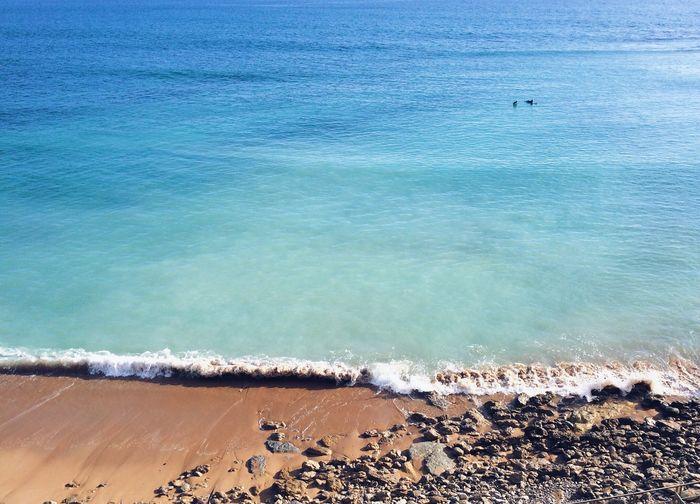 View Of Calm Beach
