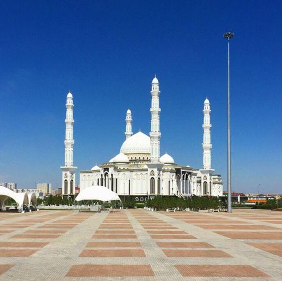 Hazrat Sultan Mosque Astana Kazakhstan