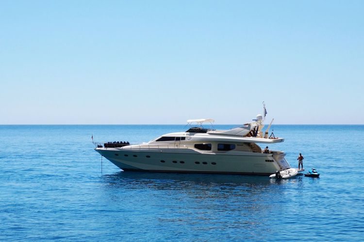 Landscape Greece Huawei Huaweip20pro Sea Nautical Vessel Sea Clear Sky Blue Yacht Luxury Water Sky Horizon Over Water Yachting Motorboat