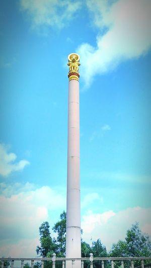 Incredible India Pagoda Samrat Ashoka Pillar SatyamevaJayate Proud Indian Peace Life
