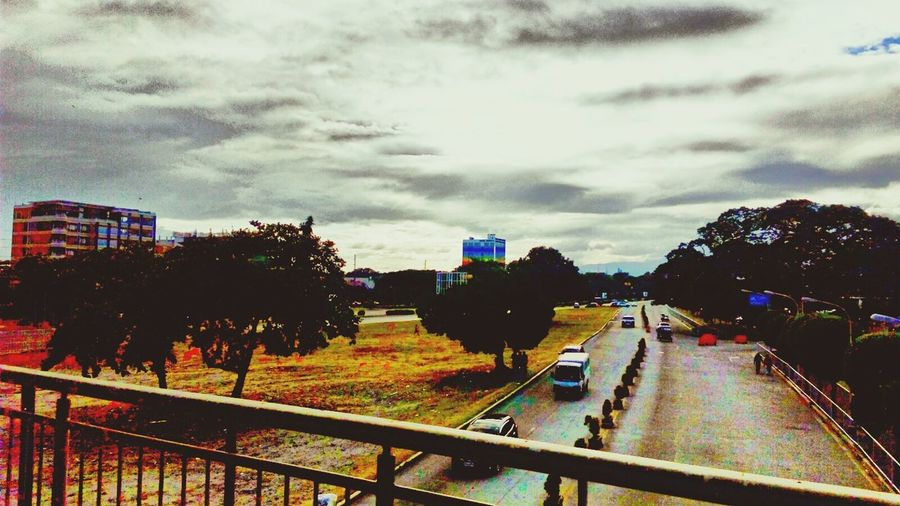 Sunny Day Sky Philippines Clark Freeport Zone taken Yesterday