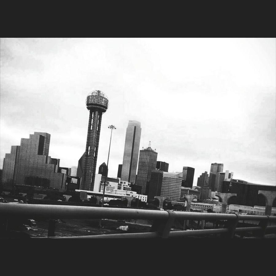 Dallastx Taking Photos Hello World Check This Out Dallas Tx Dallasskyline Dallas <3  Photos Around You Photography Blackandwhite Black & White