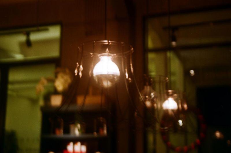 35mm Film EyeEmNewHere Agfavista400 Electricity  Focus On Foreground Indoors  Light Light Bulb Lighting Equipment Olympusxa