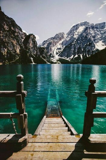 Lago di braies Italia Italianeography Italy❤️ Lagodibraies Lago Lagosphotographer Mountain Lake Water Pier Jetty Adventure Mountain Range Landscape Beauty In Nature Nature People Adult Scenics Outdoors Beauty Vacations Human Body Part Breathing Space EyeEmNewHere Investing In Quality Of Life