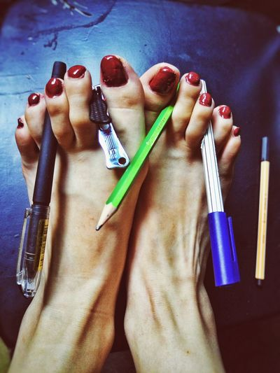 Paintedtoenails Have Some Fun  Corlorful Your Day