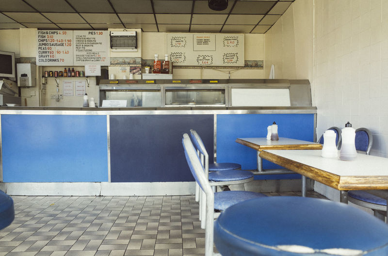 Out of hours Chip Shop Take Away Food Chippy Interior No People Silent Moment Urban Living Urbanphotography Interior Views Quiet Places Table Setting Cafe Chip Shops Blackpool No People No People Indoors Quietness Silent Moment Empty Places Empty Chair Empty Seats Counter Food Food Place Restaurants Restaurant Scene Empty Restaurant Architecture Interior