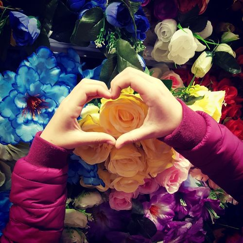 #love is in the air Human Hand Flower Holding Celebration Close-up