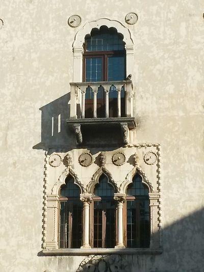 Dettaglio Palazzo Veneziano Trifora