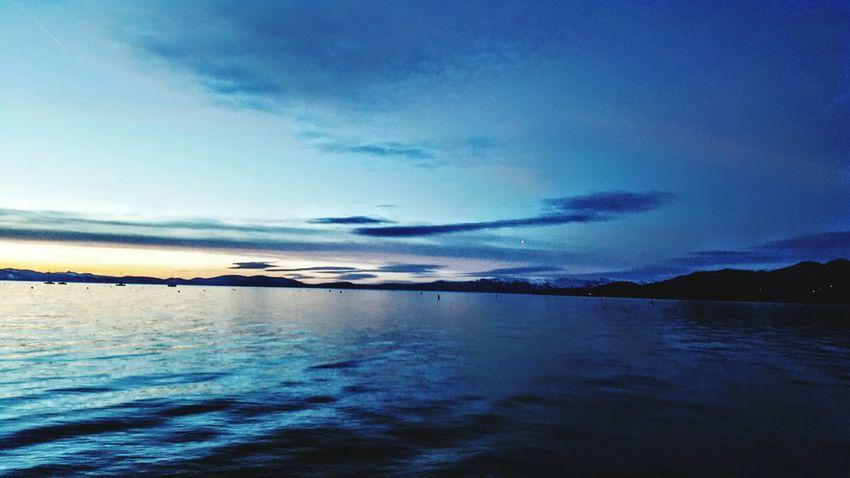 Reflection Beauty In Nature Sky Blue Water Cloud - Sky Nature Scenics South Lake Tahoe WokeUpLikeThis EyeAmNewHere Eyeemphotography EyeEm Nature Lover Lake Tahoe, Ca Lake Tahoe Colors Mountain Lake Beach Romantic Sky Travel Destinations Lake Tahoe, Nv Perfection Bliss Reflection