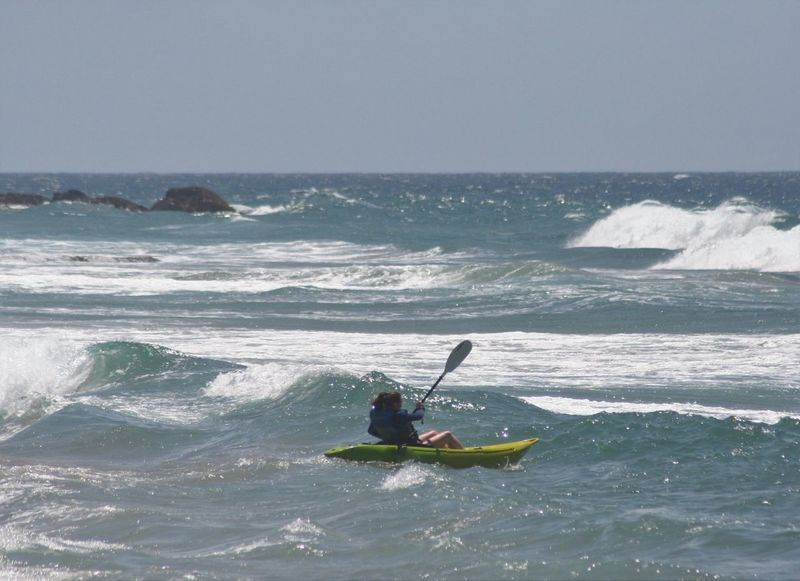 Adventure Aquatic Sport Clear Sky Day Extreme Sports Horizon Over Water Kayak KwaZulu-Natal Coast Leisure Activity Motion Nature Nautical Vessel Oar One Person Outdoors Real People Scenics Sea Skill  Sport Vacations Water Wave Be. Ready.