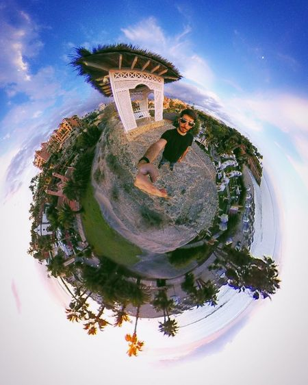 Me :)  ThatsMe Tinyplanet 360 360 Panorama Tenerife Tenerife Island Teneriffa Canarias Canary Islands Bahía Del Duque Photographer