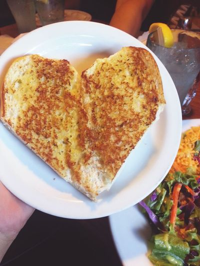 Healthy Healthy Food Healthy Eating Heart Garlic Bread Salad Time Healthy Lifestyle ILoveWater