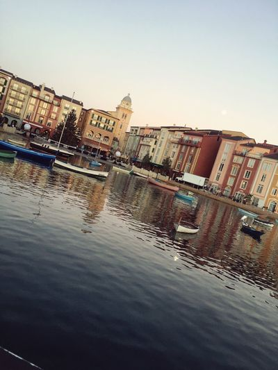 *Portofino bay-December 2017* Disneyland<3 DisneyWorld Disneyland Universal Studios  Portofino Italy Architecture Building Exterior Built Structure Reflection Water City Clear Sky Outdoors No People Residential Building Skyscraper Nature Cityscape Day Sky