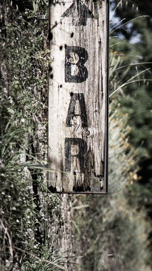 Bar Bar Sign Close-up Damaged Eye4photography  Focus On Foreground Sign Signs Weathered Wood - Material