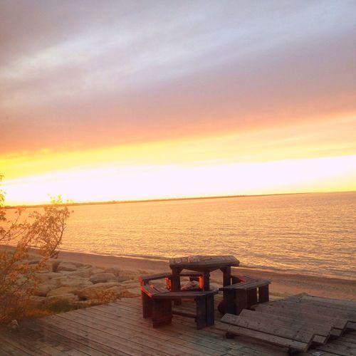 Beach Life Sunset