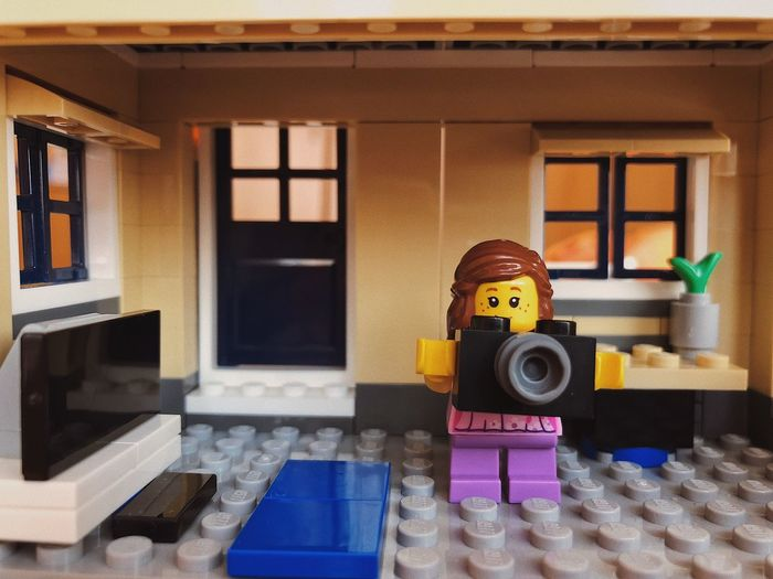Plastic world... Construction Lego Minifigures Brickwork  Fun Texture Pattern Camera - Photographic Equipment Childhood Creativity Game Toys Playground Figure Doll Brick Plastic Toy LEGO Plastic No People Technology Toy Indoors  Representation Human Representation Built Structure Art And Craft Still Life Home Interior Architecture Window