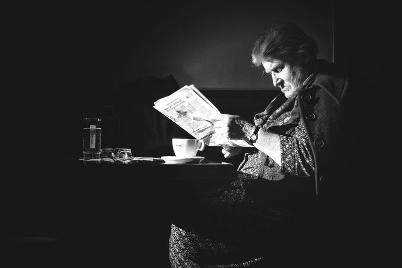The City Light Reading Indoors  One Person One Woman Only Adults Only People Adult The Street Photographer - 2017 EyeEm Awards