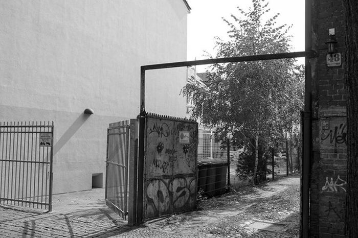 Another Backyard Entrance in Weißensee - it has plenty of them. However, Blackandwhite with Lenka , Unedited