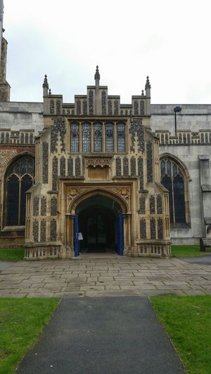 Flint Stone Church Medieval Architecture Architectural Detail Quoins Cathedral Chelmsford Stone Detail Gothic Arches Window Leaded Windows Leaded Glass Stone Wall Arches Battlements Buttress Medieval Church Patterns Geometry Doorway